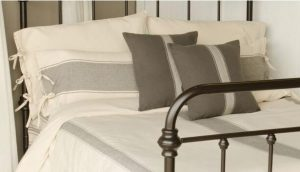 Pewter Striped Bedding