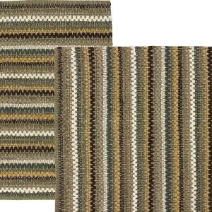 Chindi style woven rug - Mineral Stripe