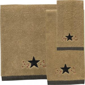 Star Vine Bath Towels